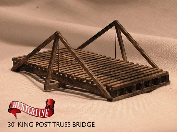 "30"" King Post Truss Bridge"
