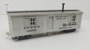 D&RGW Bunk Car 04965