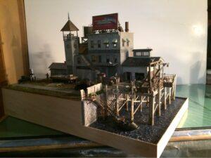 Rick Wolfanger scratch built harbor side industry